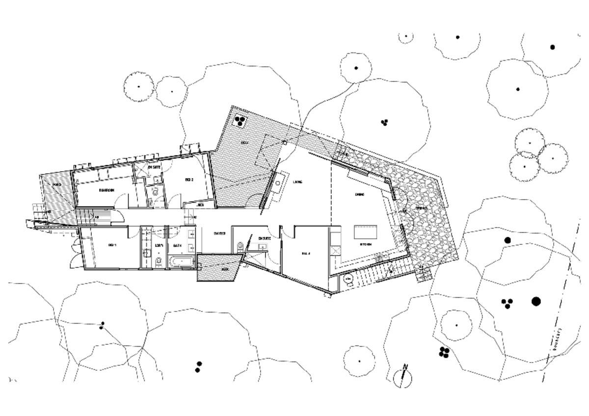 Small Beach House Plan
