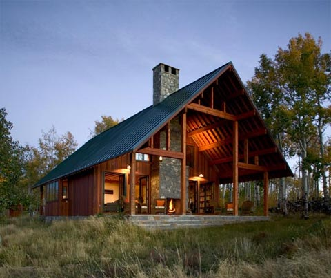 small-cabin-a-frame-colorado