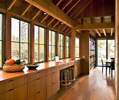 small-cabin-hallway-colorado