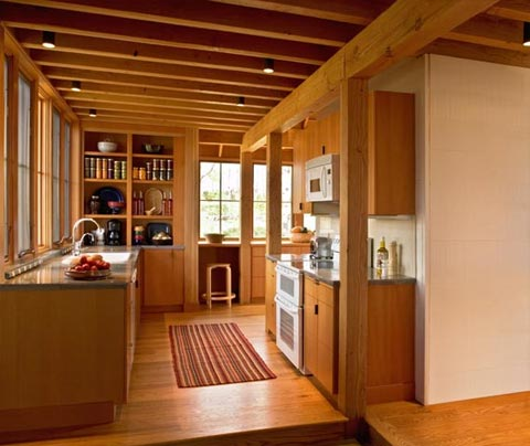 Modern cabins small cabin designs ideas and decor for Small cabin kitchen designs