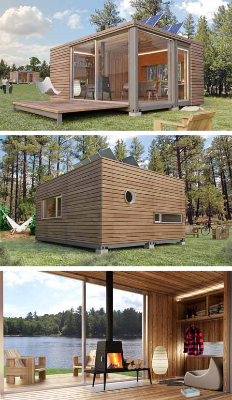 Meka world contain yourself shipping container homes for Tiny vacation homes