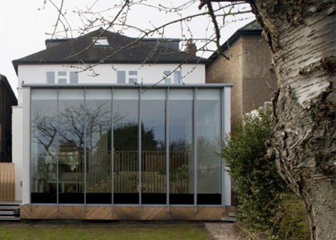 small extension orangery 4 - The Orangery: from darkness to lightness