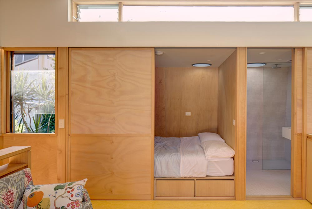 small house design bedroom pm - Laneway Studio