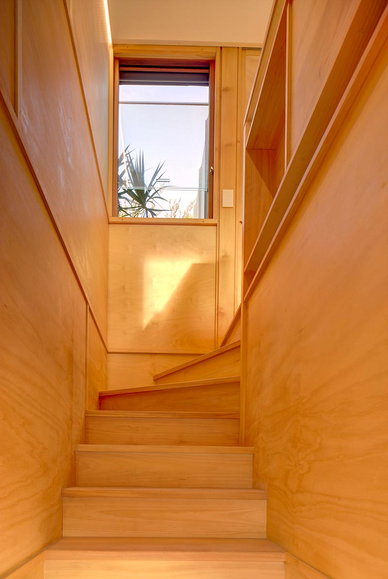 small house design stairs pm - Laneway Studio