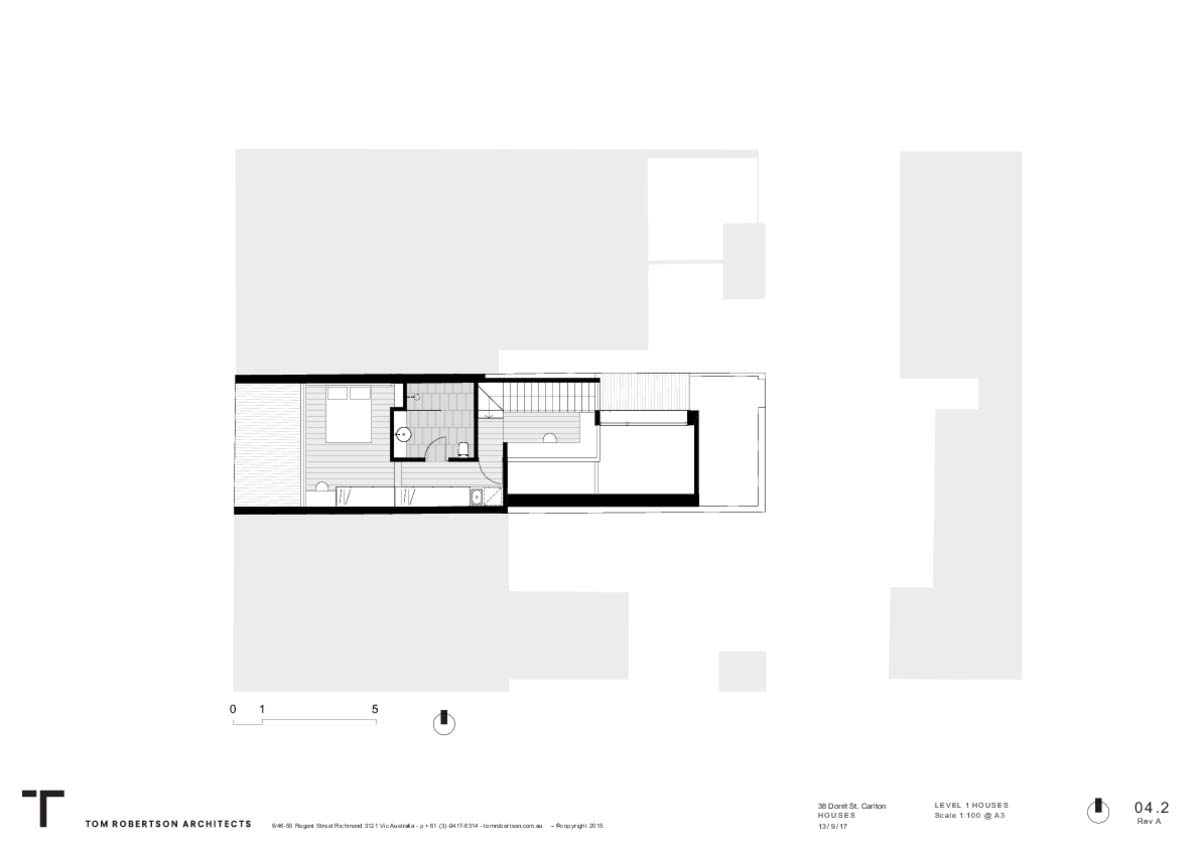 small house extension design plan tr2 - Carlton House Addition