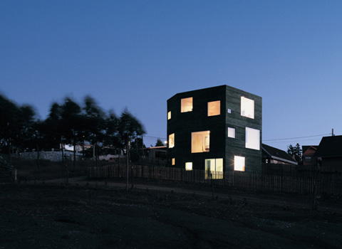 Fosc House: an inhabitable monolithic prism