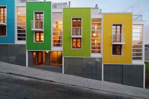 Yungay Lofts Ii Unity And Fragmentation Modern Architecture