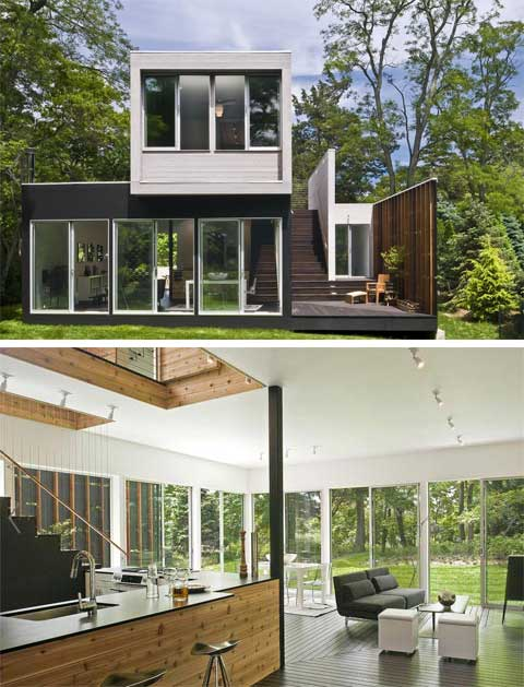 Swell Noyack Creek House The World Is A Stage Small Houses Largest Home Design Picture Inspirations Pitcheantrous