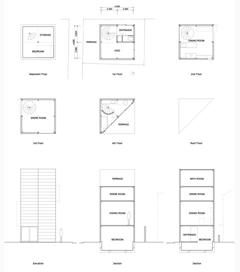 Tiny Japanese House Plans House Plans