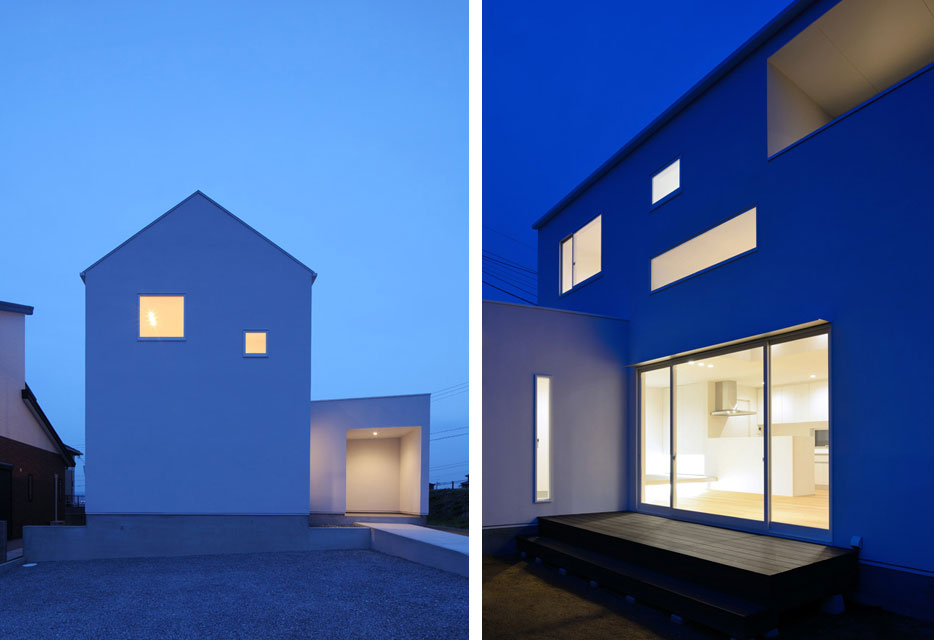 The ya house japanese architecture small houses for Small modern architecture homes