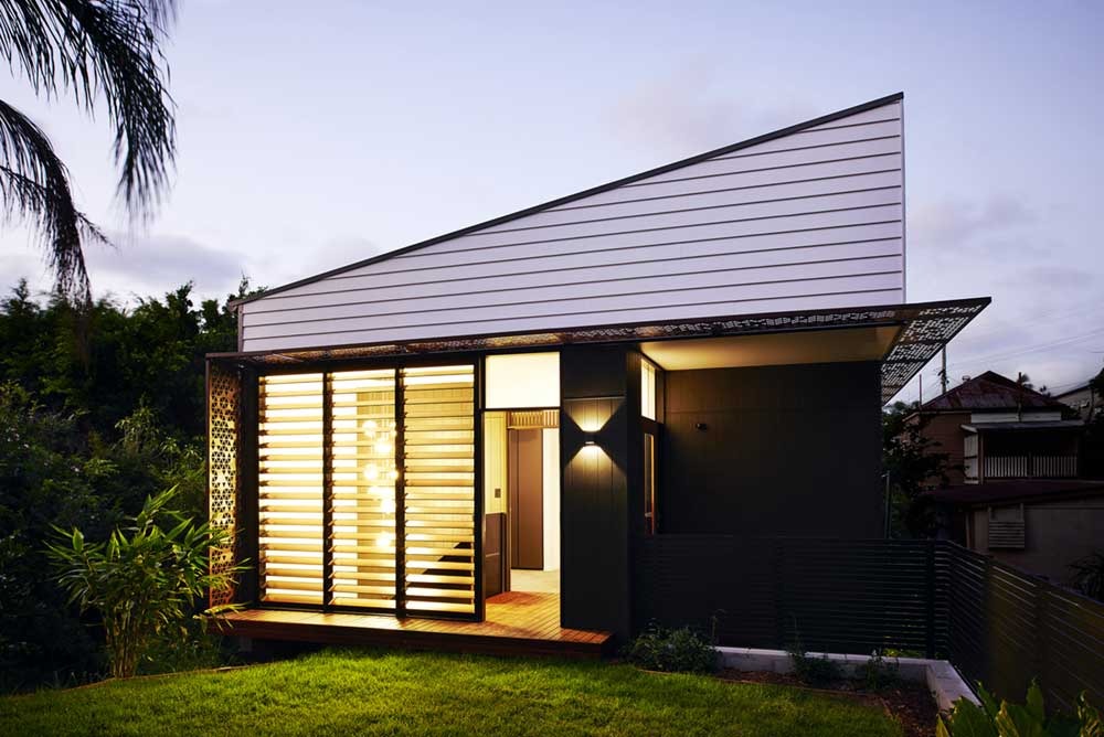 Small 80 Sq.m. Infill Home Design In Brisbane, Australia