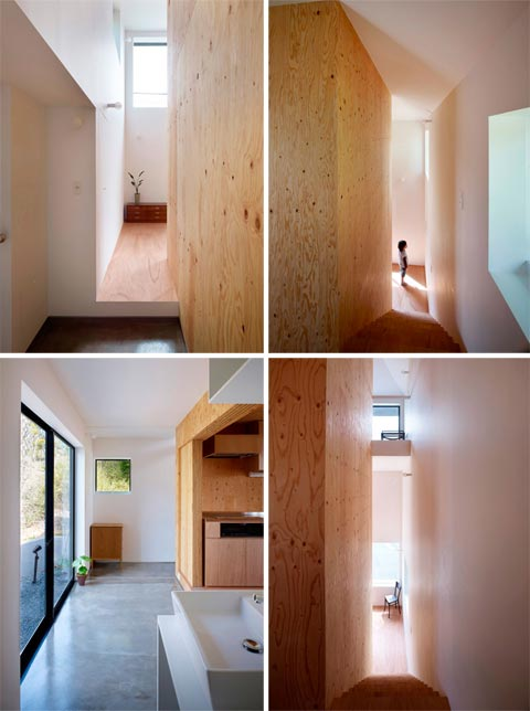 Belly House: the space between - Japanese Architecture, Small Houses