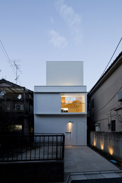 Outdoor House Illuminate The Dark Japanese Architecture Small Houses