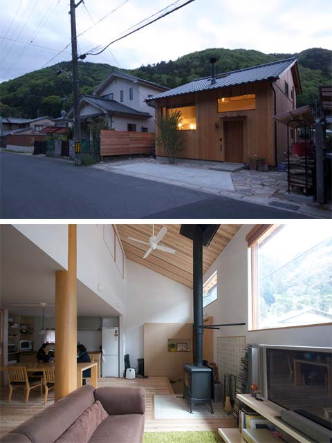 Small house in yase charmingly simple japanese for Small house design japanese style
