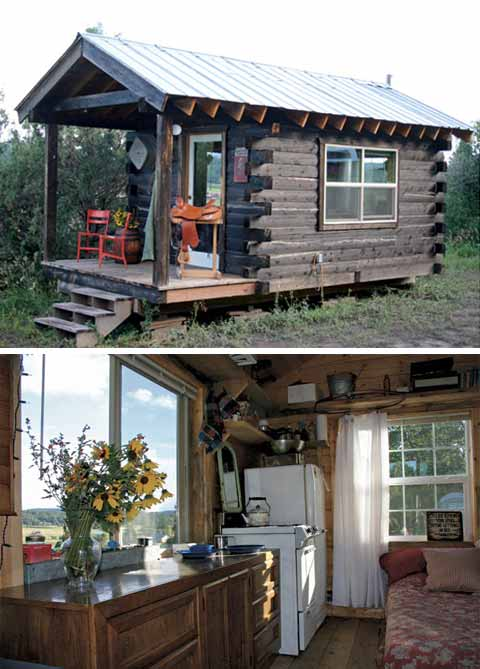 Jalopy cabins d log cabin modern cabins small houses for Small inexpensive cabins