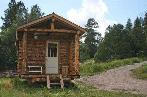 small log cabins jalopy hut - Jalopy Cabins: D-Log Cabin