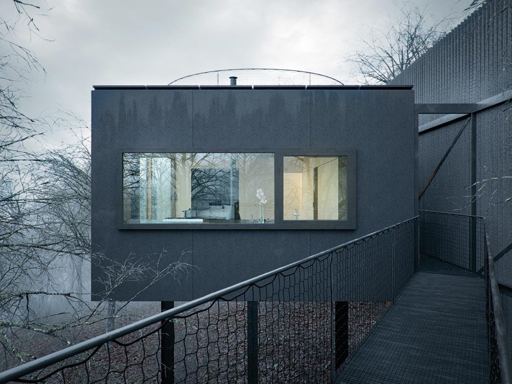 small modern cabin wojr3 - Mask House