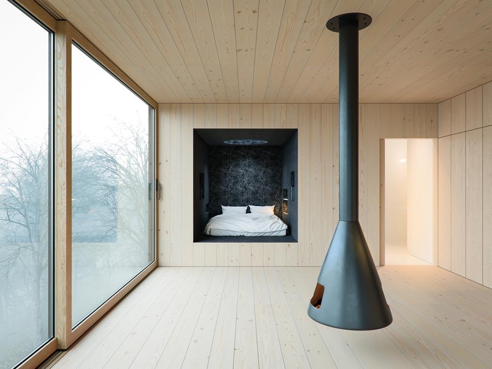small modern cabin wojr5 - Mask House