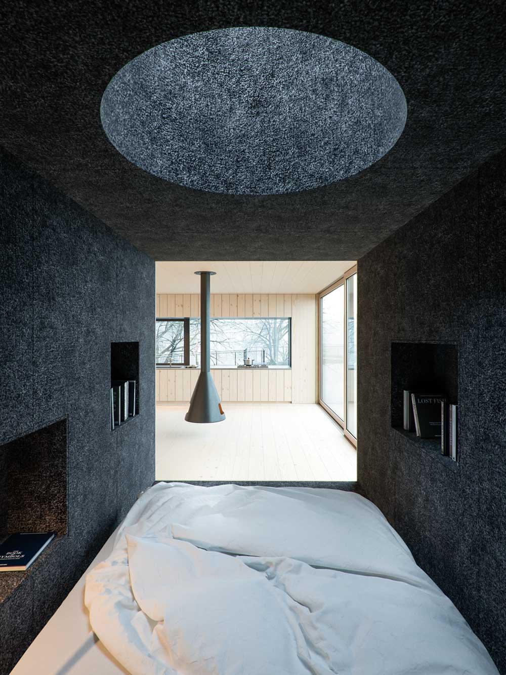 small modern cabin wojr6 - Mask House