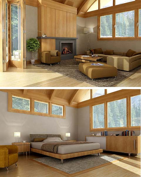 Green living modular homes simple green living for Green living homes