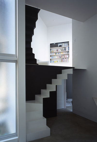 small narrow house w 3 - W Window House: a shimmering steel tower