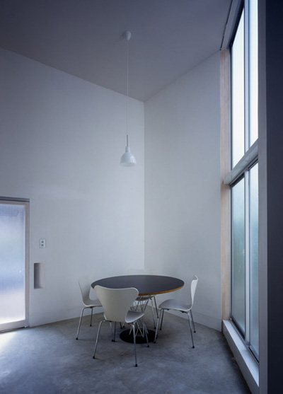 small narrow house w 5 - W Window House: a shimmering steel tower