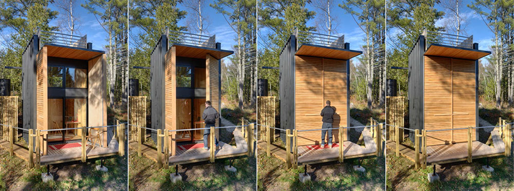 Tiny Home Designs: Tiny Off-The-Grid Weekend Cabin With Views Of Lake Superior