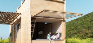 small offgrid prefab cabin design 300x140 - Cabin On The Border