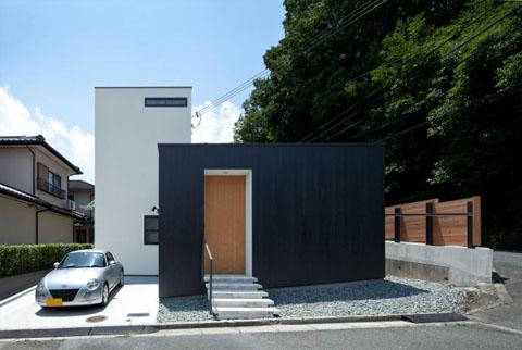 Niu House An Inhabitable Prefab Composition Japanese