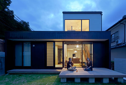 Niu House An Inhabitable Prefab Composition Japanese