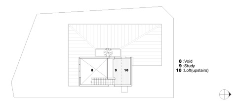 small prefab home niu plan 2 - Niu House: an inhabitable prefab composition
