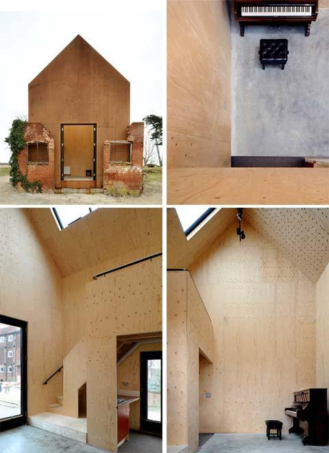 small prefab studio dc 6 - Dovecote Studio: a prefab ruin