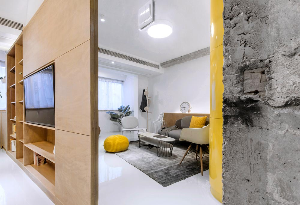 small space apartment design divide td - 10° home