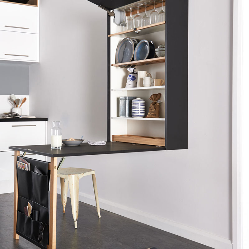Amazing small space kitchen accessories from magnet uk - Small kitchen no counter space model ...