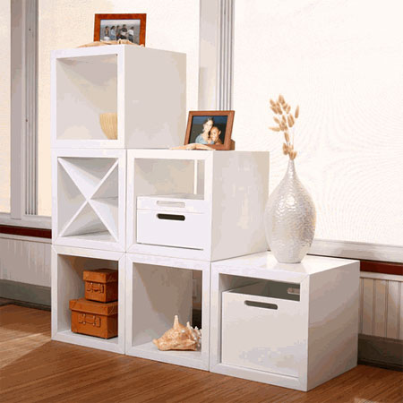 small spaces storage cube - Small Spaces: Think Inside the Box