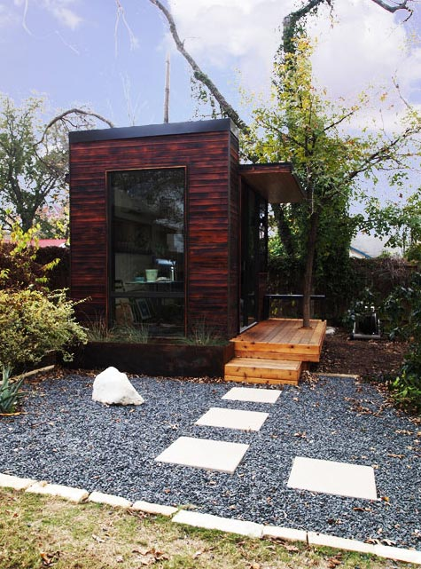 Backyard Prefabs Prefab Office Shed and Garden Studio Busyboo