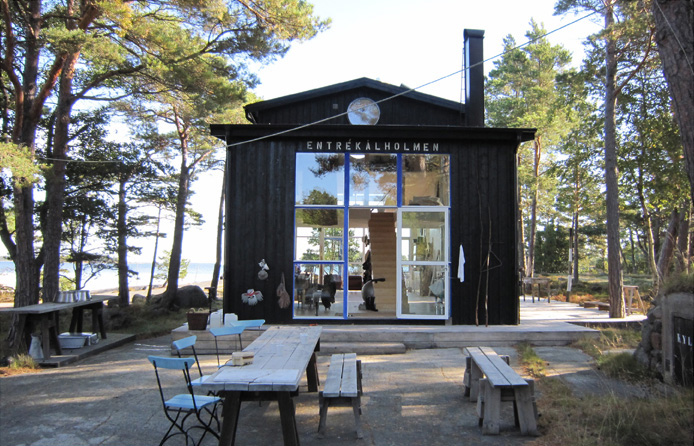 small summer cabin cs1 - Artist's Building: Summer Cabin, Swedish Island