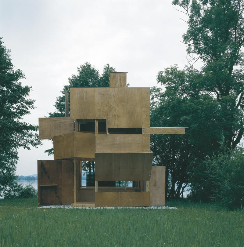 small wooden house hpw - GucklHupf