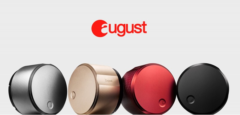 smart lock august1 800x385 - August Smart Lock