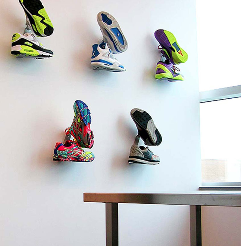 sneaker-rack-shrine