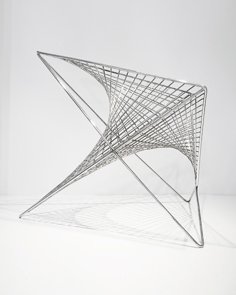 Before And After Merging Two Rooms Has Created A Super: Parabola Chair: Straight Curves