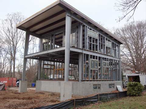 Allen Residence Steel Prefab Home Prefab Homes