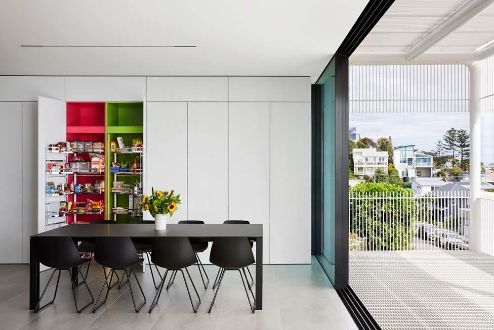 steep lot house design pantry - Greenacres