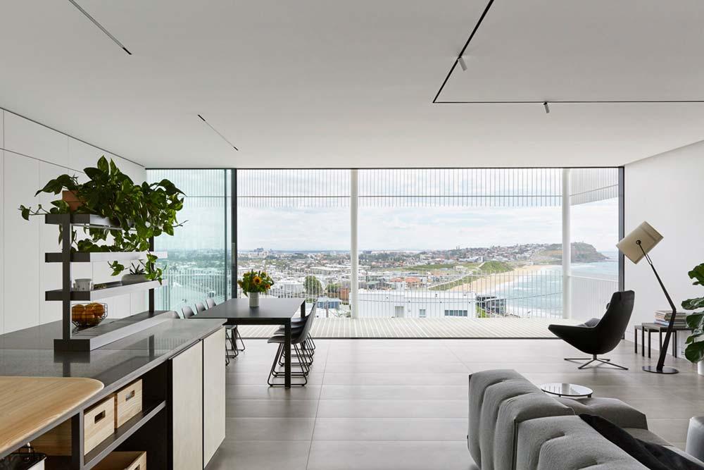 steep lot house design views - Greenacres