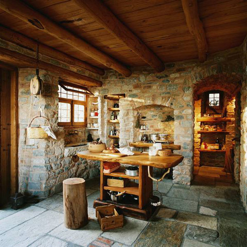 Holiday House in Greece: Dream Home of Stone - Beautiful ...