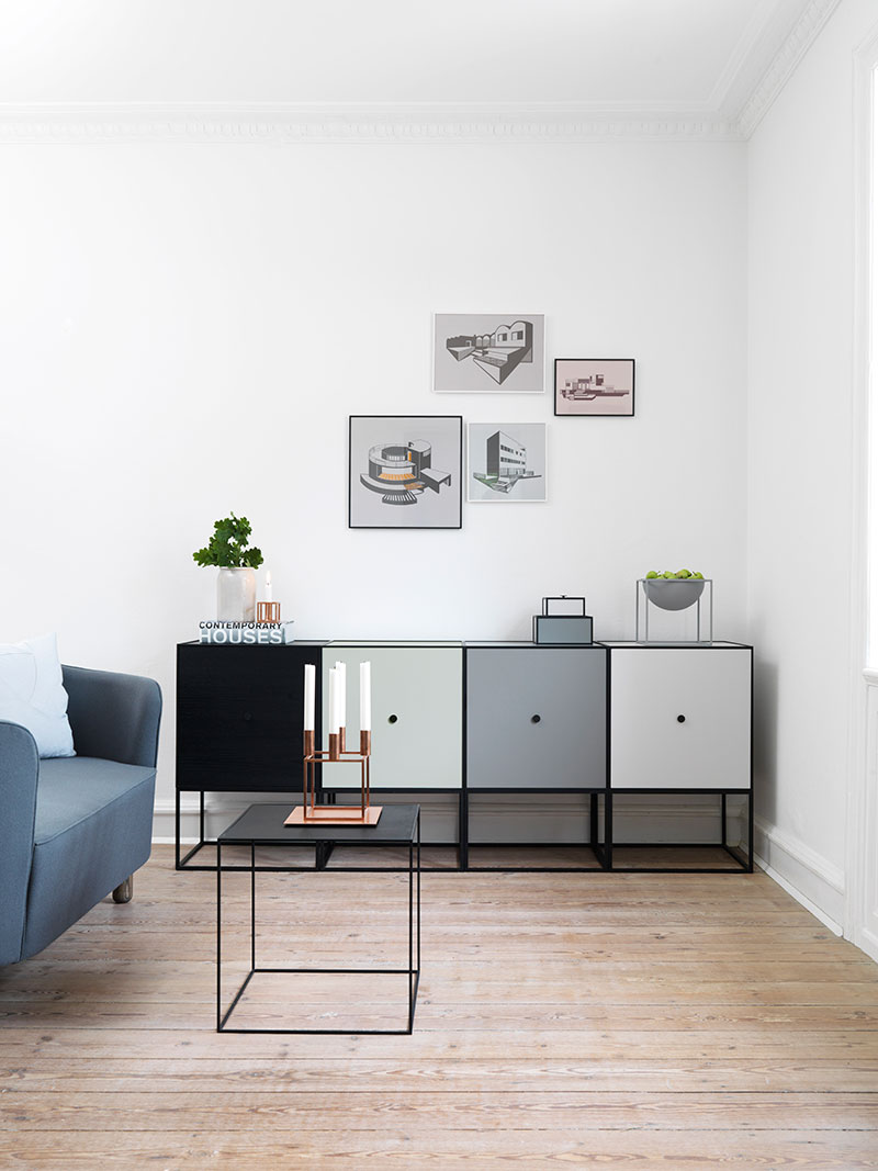 Contemporary Storage Box Units That Stack Hang Or Stand