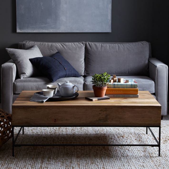 Rustic storage coffee table basically beautiful for Rustic coffee table with storage