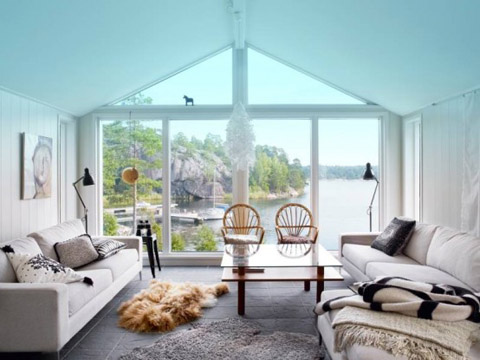 Swedish Summer House For Nature Lovers Only Beautiful