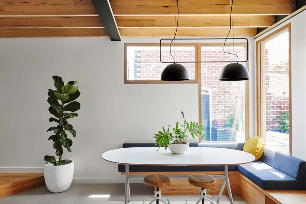 sustainable cottage dining design - Melbourne Vernacular