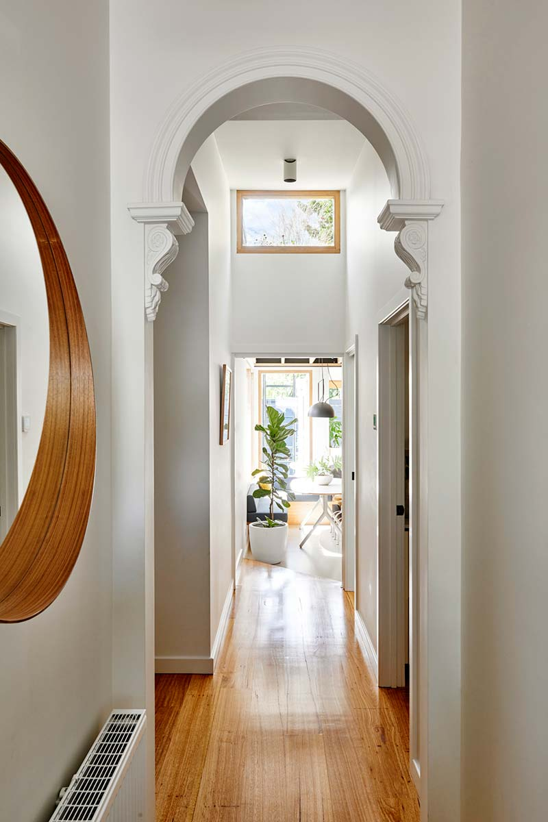 sustainable cottage entry design - Melbourne Vernacular